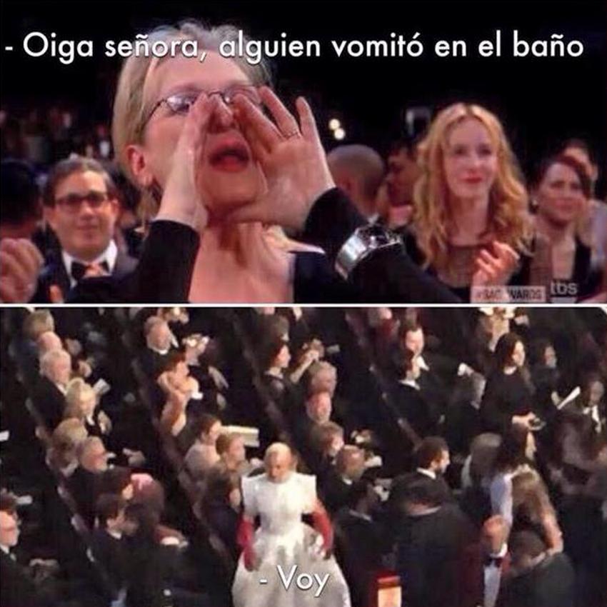 Meryl Streep meme Oscar 2015