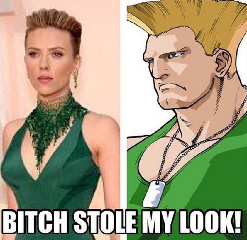 Scarlett Johansson meme OScar 2015