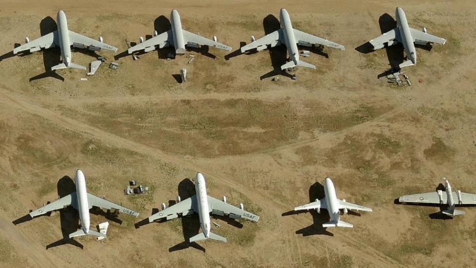 cementerio de aviones