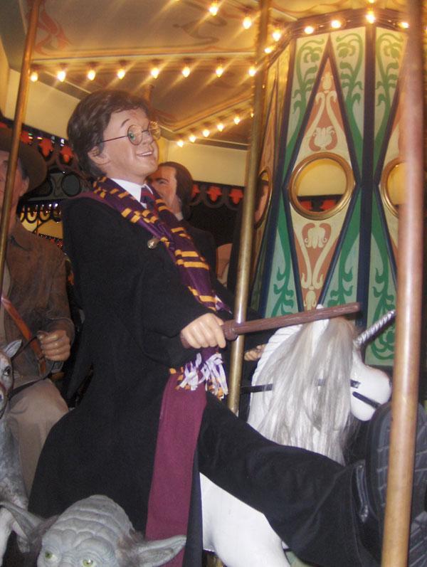 Harry Potter en el Museo de Cera de Madrid