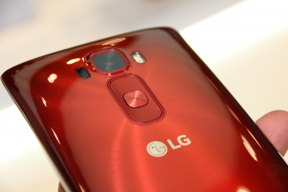 LG G Flex 2 móvil pantalla curva