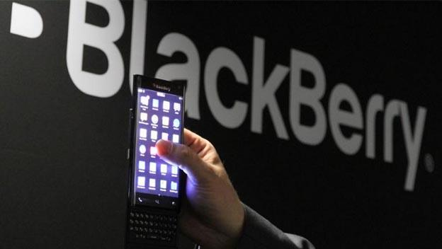 BlackBerry móvil pantalla curva