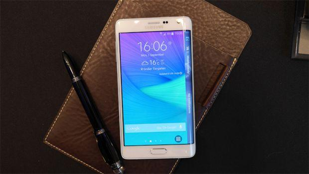 Samsung Galaxy Note Edge móvil pantalla curva