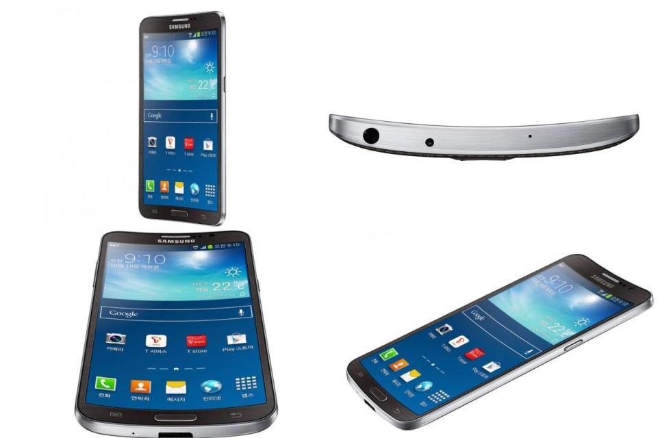 Samsung Galaxy Round móvil pantalla curva