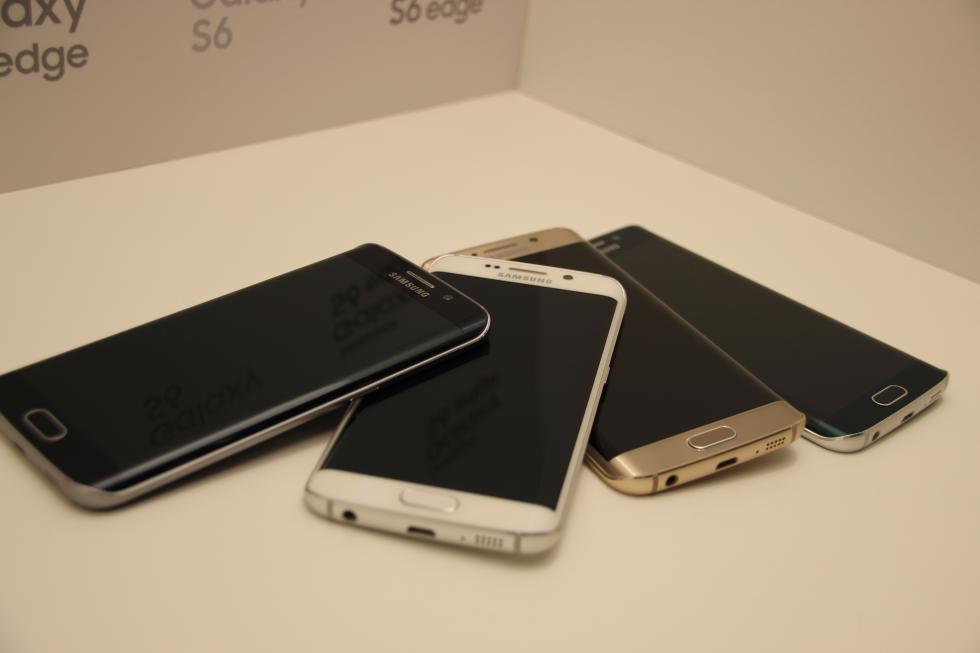 Samsung Galaxy S6 Edge móvil pantalla curva