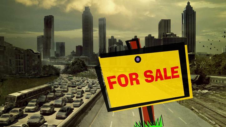 Pueblo en venta de The Walking Dead
