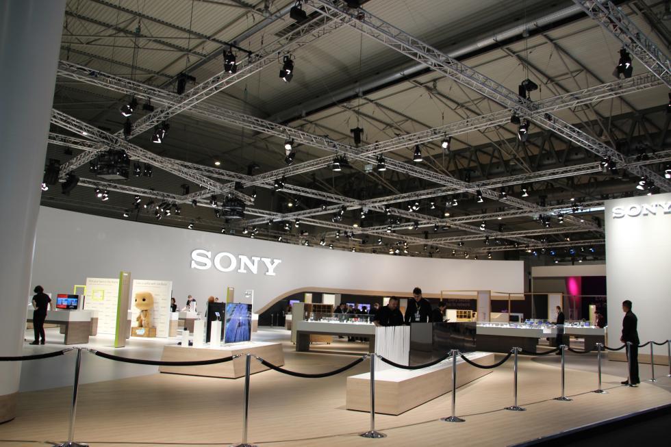 Stand de Sony