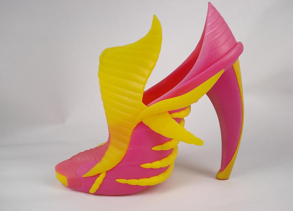 Gruppo Meccaniche Luciani impresión 3D multimaterial zapatos