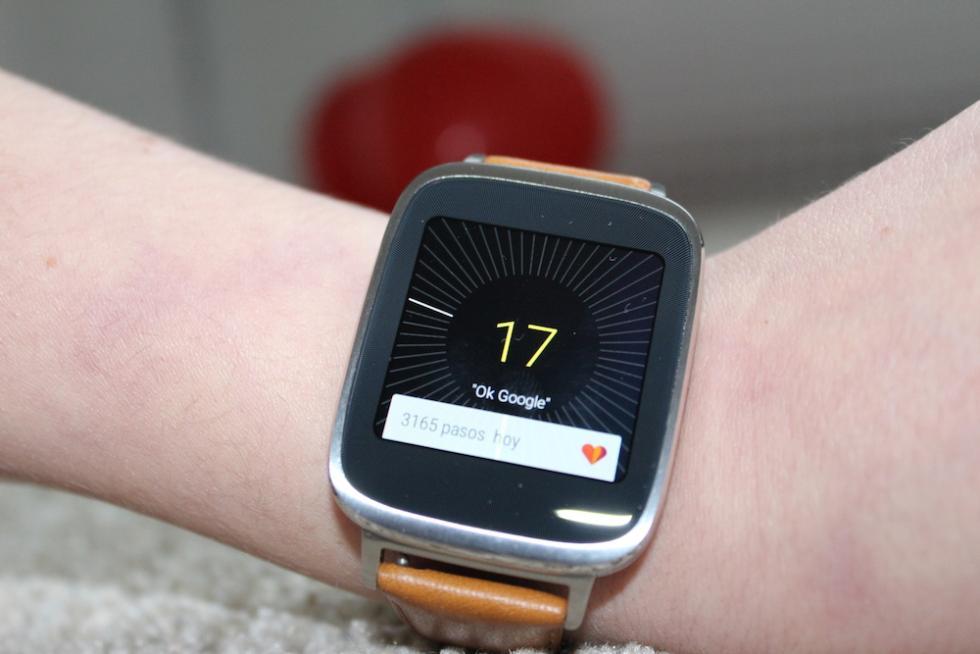 Asus ZenWatch pantalla