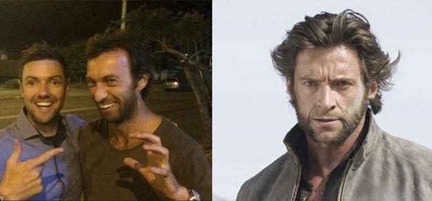El parecido razonable del doble anónimo de Hugh Jackman