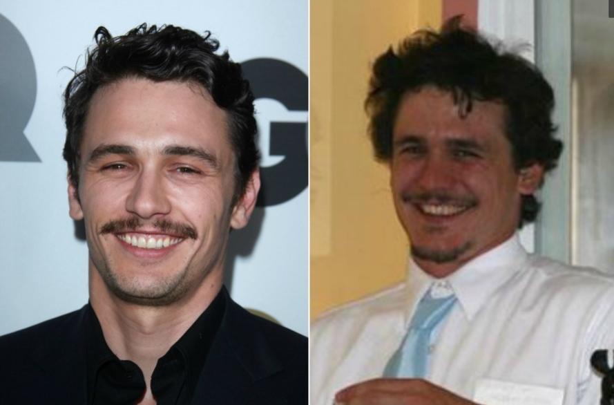 El parecido razonable del doble anónimo de James Franco