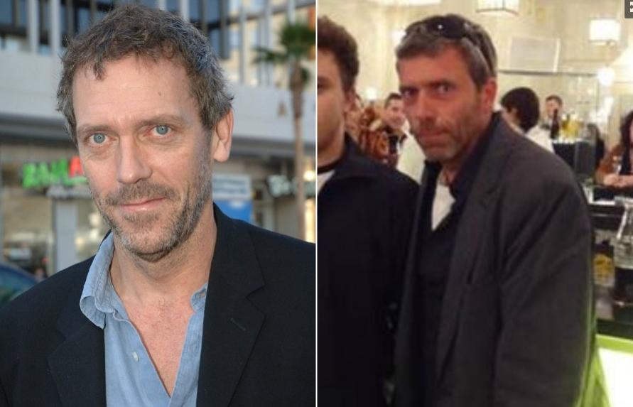 El parecido razonable del doble anónimo de Hugh Laurie