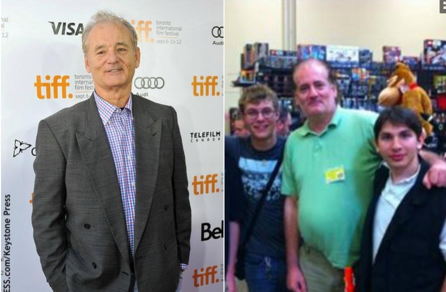 El parecido razonable del doble anónimo de Bill Murray
