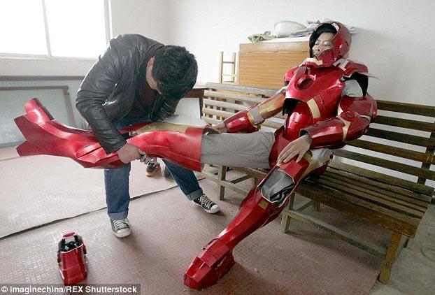 armadura de Iron Man