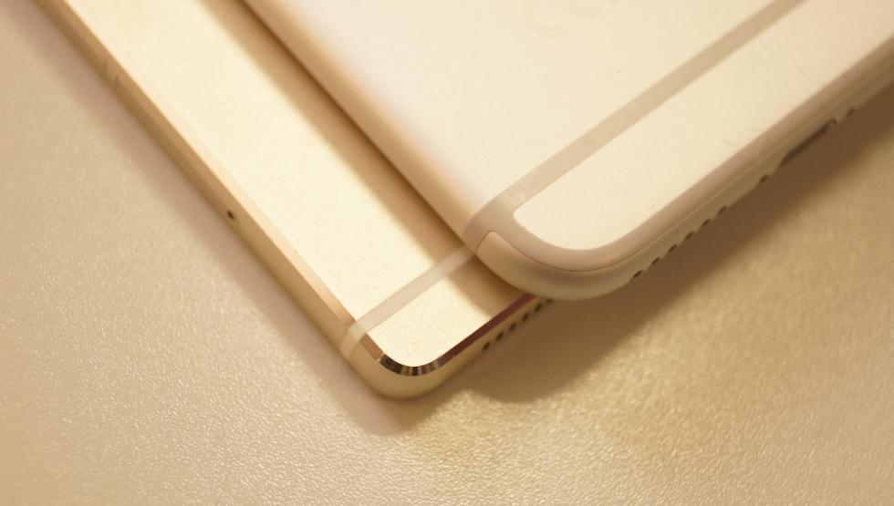 Foto Huawei P8 iPhone 6