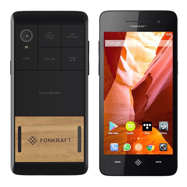 Fonkraft, el primer smartphone modular a la venta