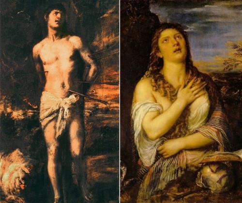 Tiziano cómo reconocer pintores por sus cuadros