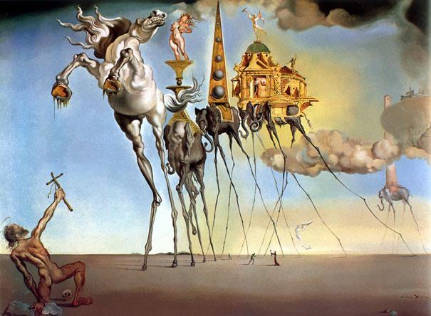 Dalí cómo reconocer pintores por sus cuadros
