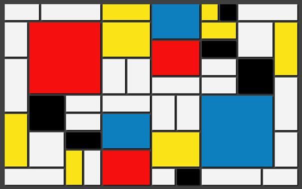 Mondrian cómo reconocer pintores por sus cuadros