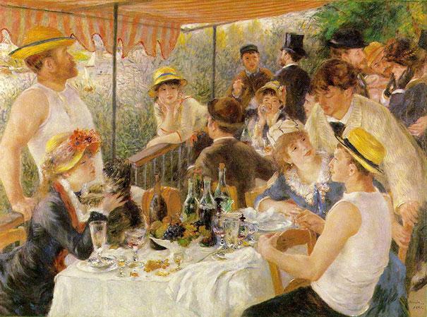 Renoir cómo reconocer pintores por sus cuadros