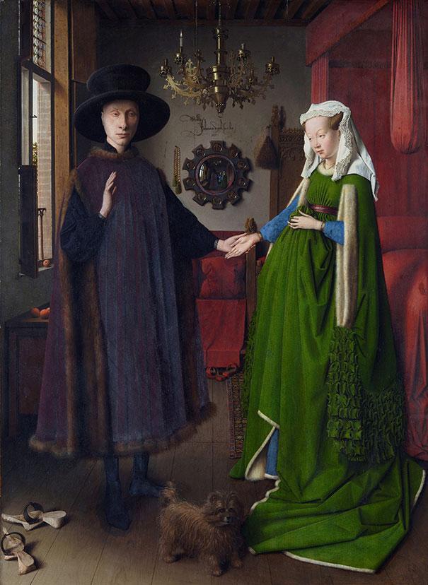 Van Eyck cómo reconocer pintores por sus cuadros