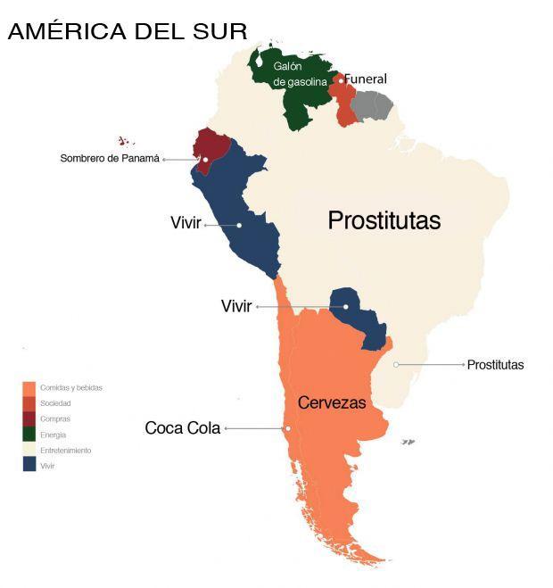 Estas son las palabras más buscadas en Google Sur América.