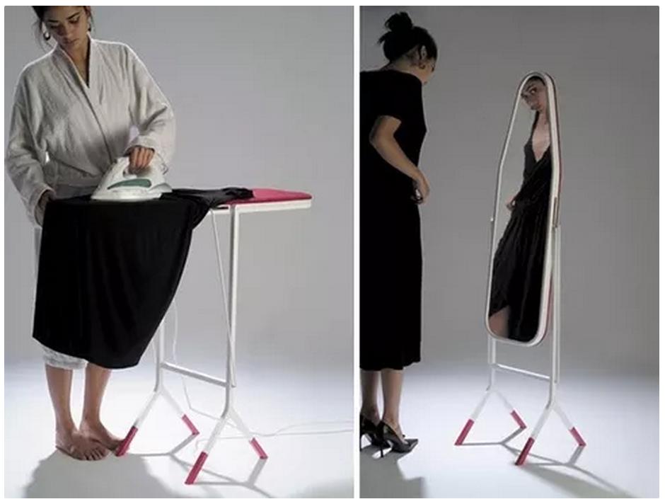 Tabla de plancha espejo inventos útiles sorprendentes