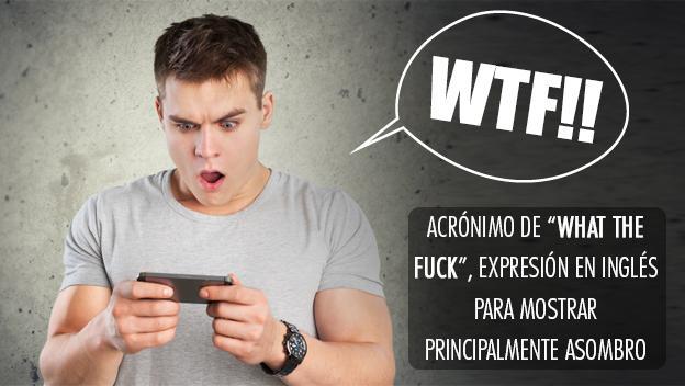 Los acrónimos más utilizados de Internet - WTF