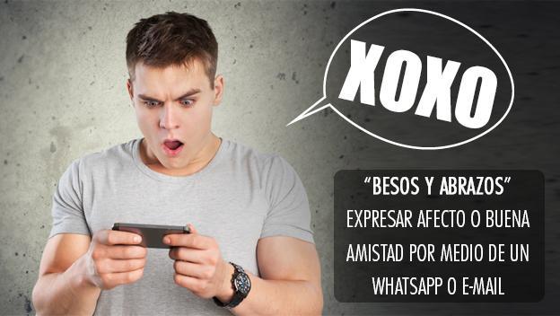 Los acrónimos más utilizados de Internet - XOXO