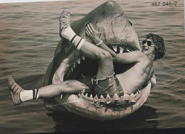 Tiburón: Las 12 imágenes más llamativas de su rodaje