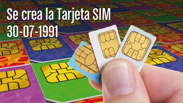 primera tarjeta SIM