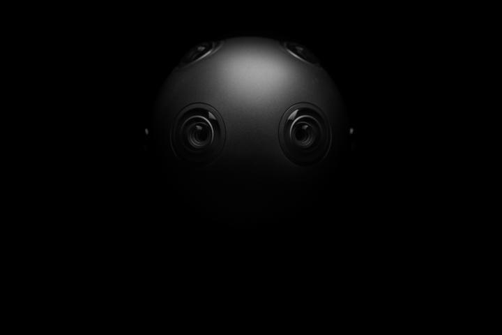 Ozo, la cámara 360 de Nokia - parte trasera