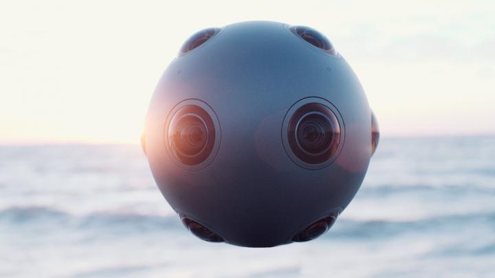 Ozo, la cámara 360 de Nokia - tamaño completo