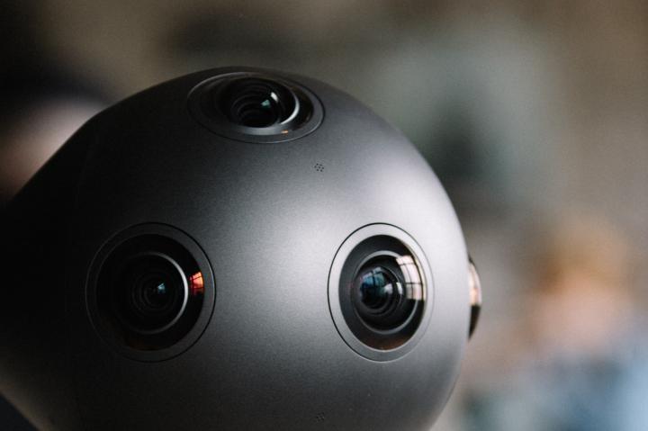 Ozo, la cámara 360 de Nokia - lateral
