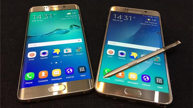 Samsung Galaxy Note 5 vs Samsung Galaxy S6 Edge+