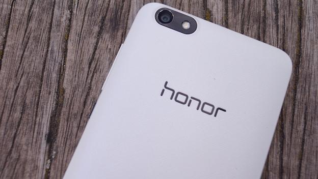 Honor 4X, parte posterior