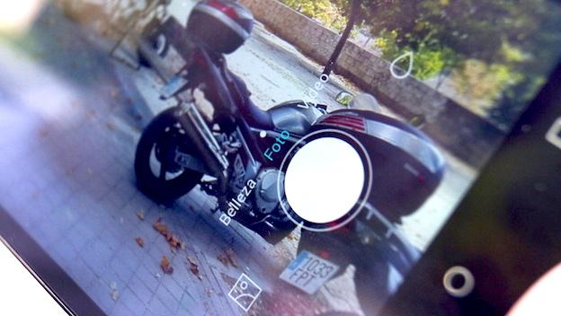 Honor 4X, interfaz fotográfica