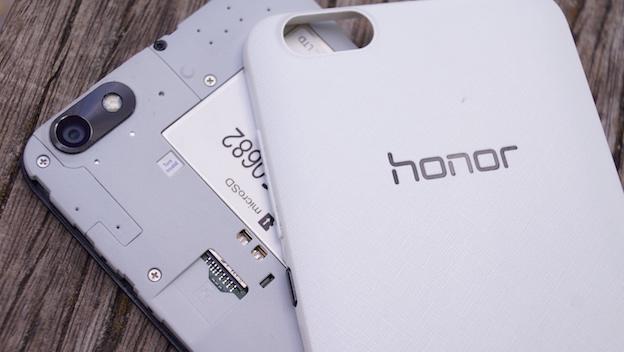 Honor 4X, interior y cámara