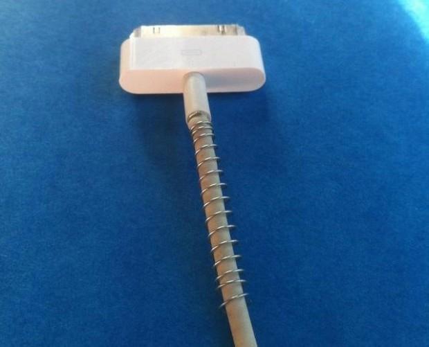 Refuerzo para el cable de carga