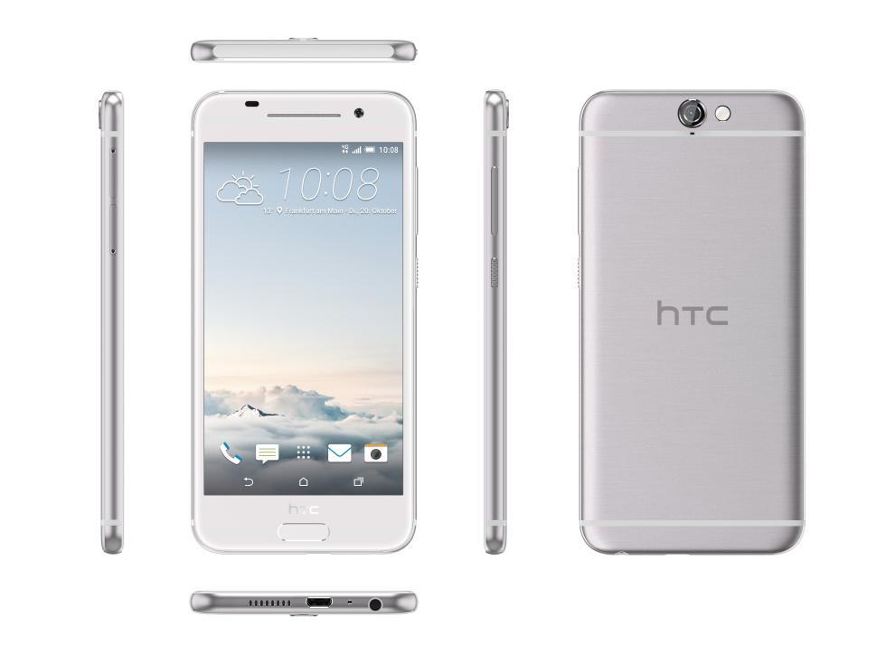 HTC One A9, con Android 6.0 Marshmallow y diseño de aluminio