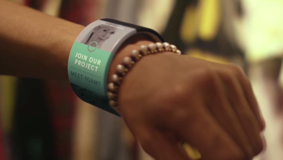 Las pantallas flexibles abrirán nuevas posibilidades en los wearables.