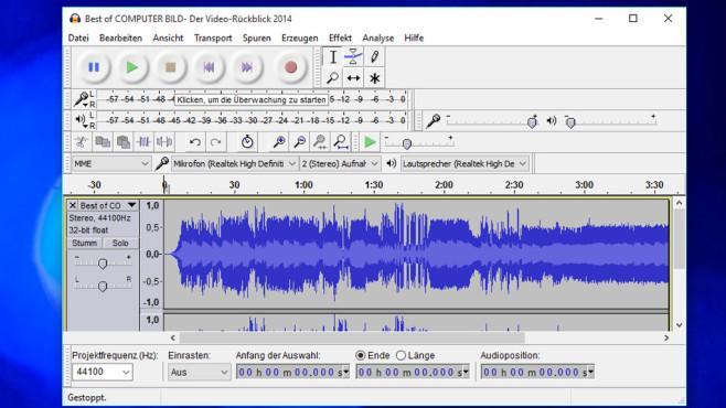 Mejores programas Windows 10 gratis: audacity