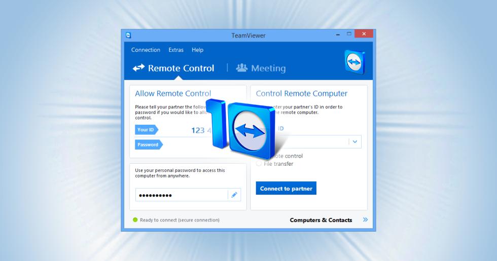 Mejores programas Windows: Teamviewer