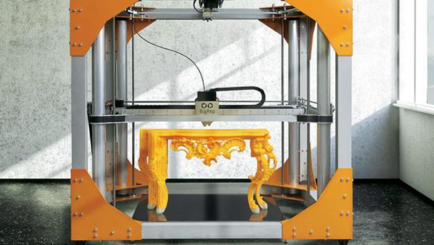 Muebles impresos en 3D que son vistosos y nos ayudan a decorar la casa por pocos euros.