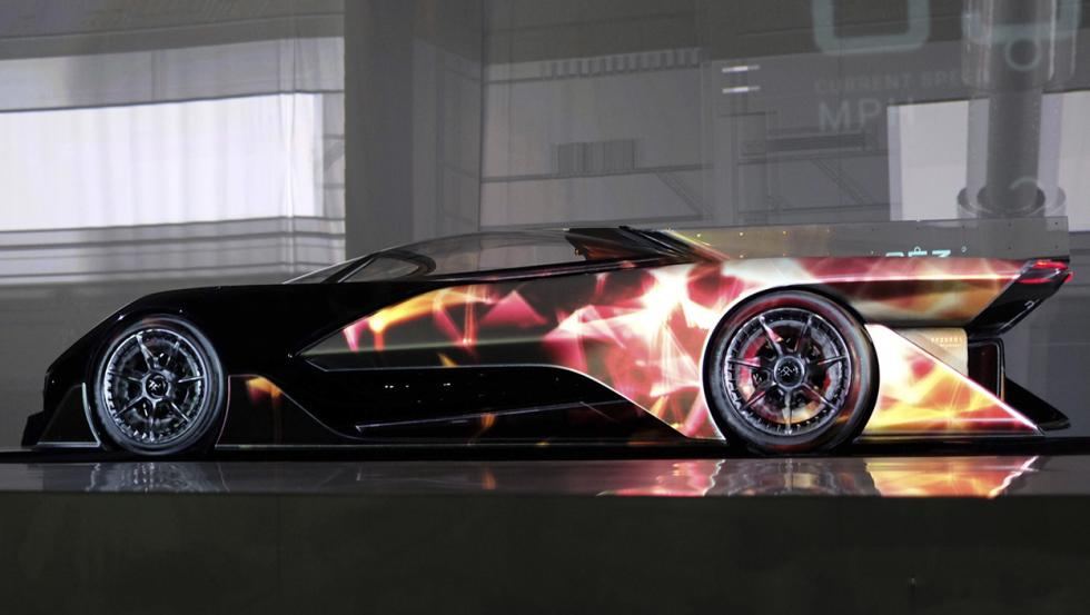 FFZERO1 de la startup Faraday Future, una compañía del sector del automóvil.