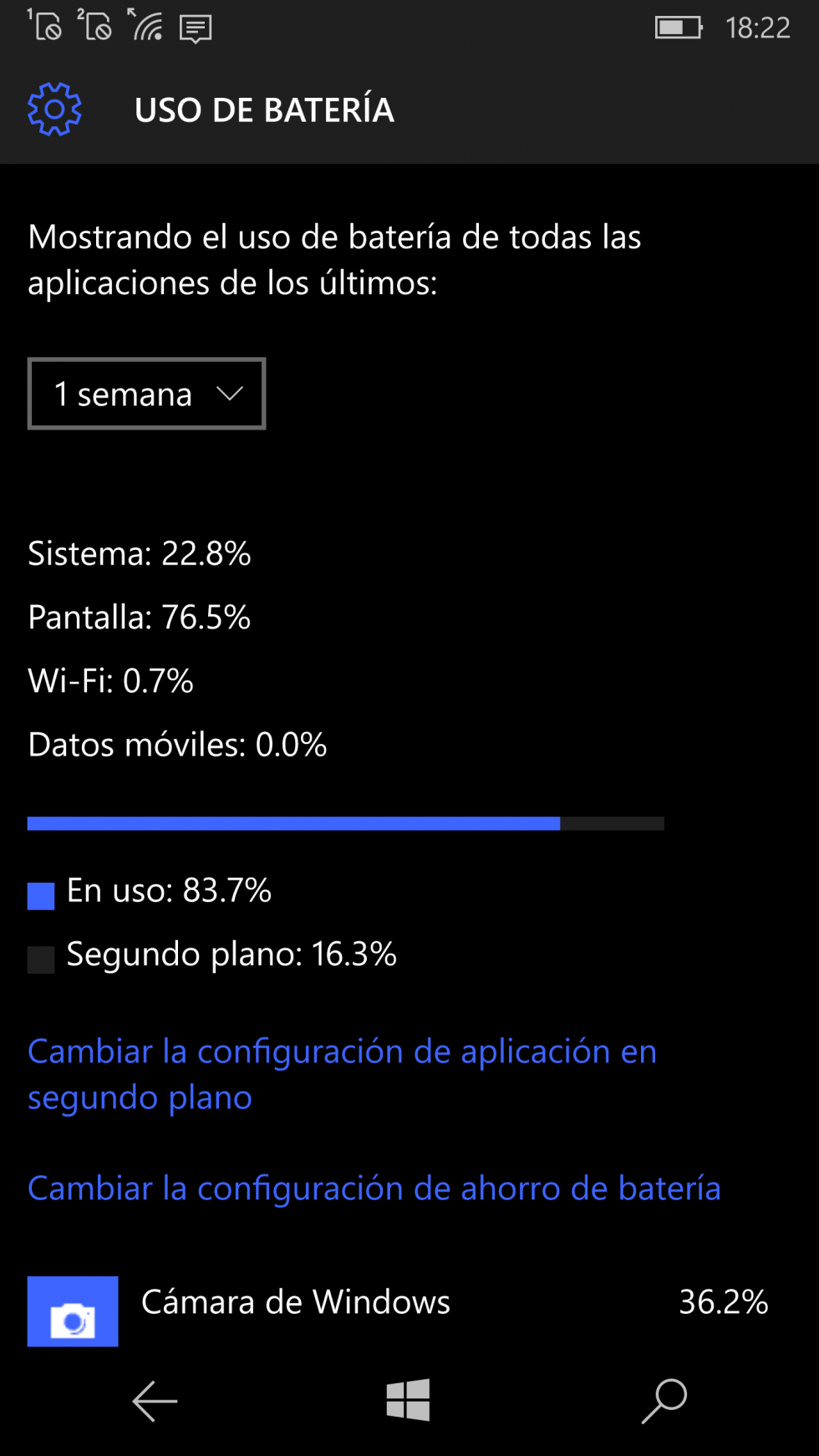 Windows 10 Mobile con Lumia 950
