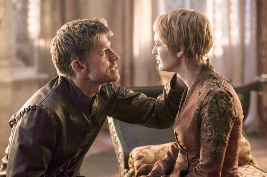 Jaime y Cersei Lannister juntos