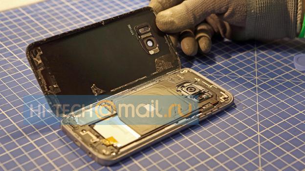 El interior del nuevo Galaxy S7 de Samsung