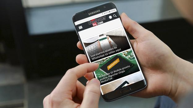 Samsung Galaxy S7 Edge frontal