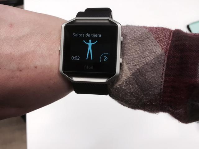 Fitbit Blaze, el cuantificador con aspiraciones de smartwatch